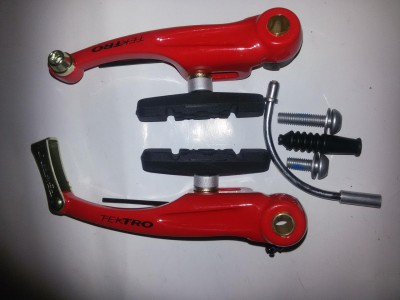Тормоза ободные типа V-brakes Tektro 837